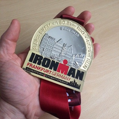 And what a medal...